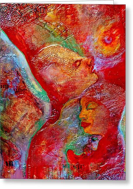 Disassembled Greeting Card by Claudia Fuenzalida Johns