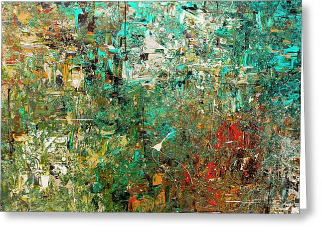 Discovery - Abstract Art Greeting Card