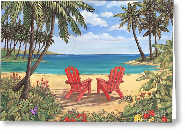 Discovery Bay II Greeting Card