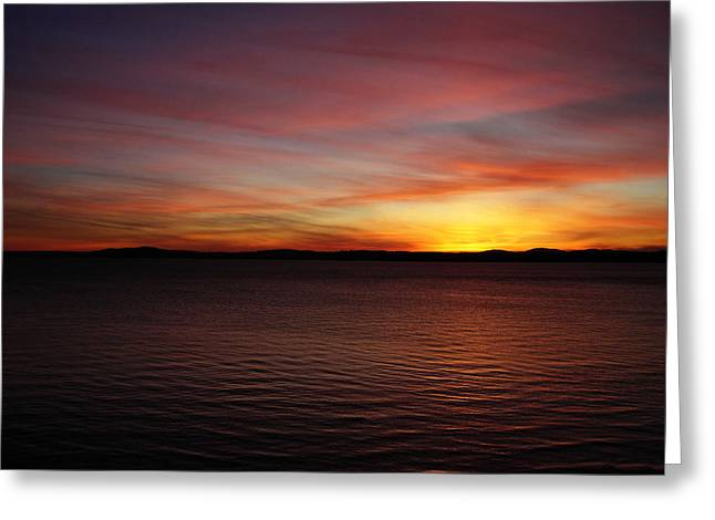 Discovery Park Sunset 6 Greeting Card by Pelo Blanco Photo