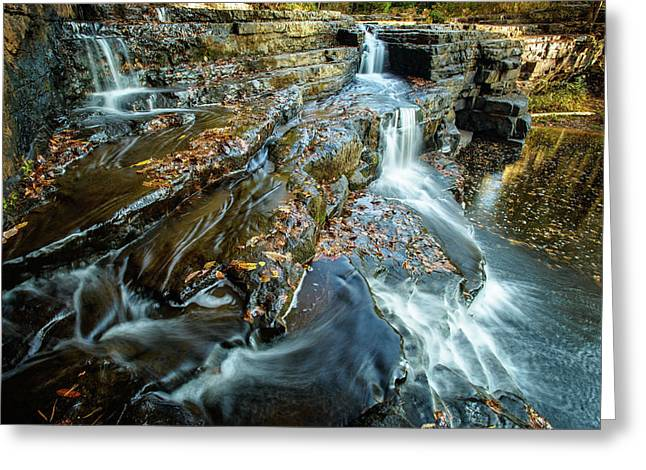 Dismal Creek Falls #2 Greeting Card
