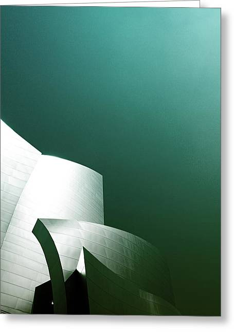 Disney Concert Hall 3- Photograph By Linda Woods Greeting Card