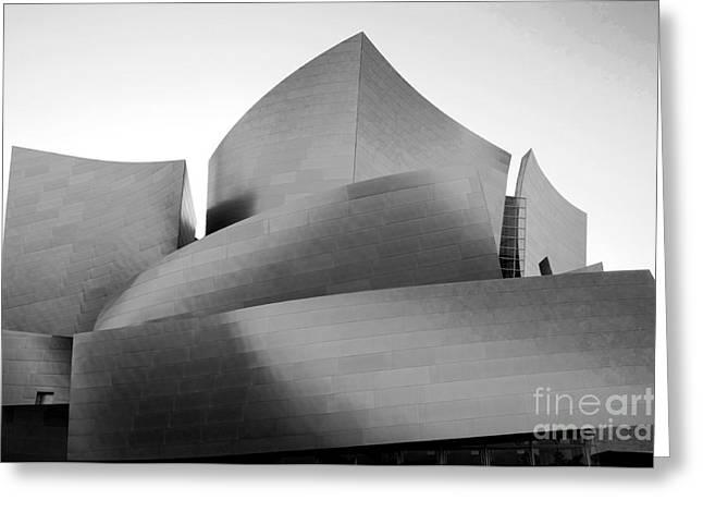 Disney Concert Hall California 24 Greeting Card by Micah May