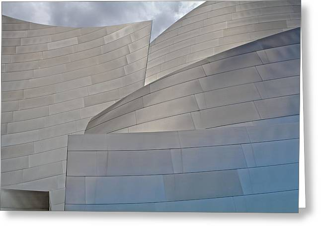 Greeting Card featuring the photograph Disney Concert Hall by Kim Wilson