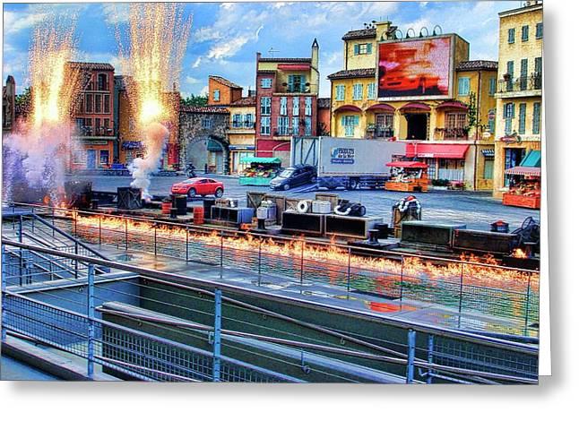 Disney Orlando Greeting Card by Francesco Roncone