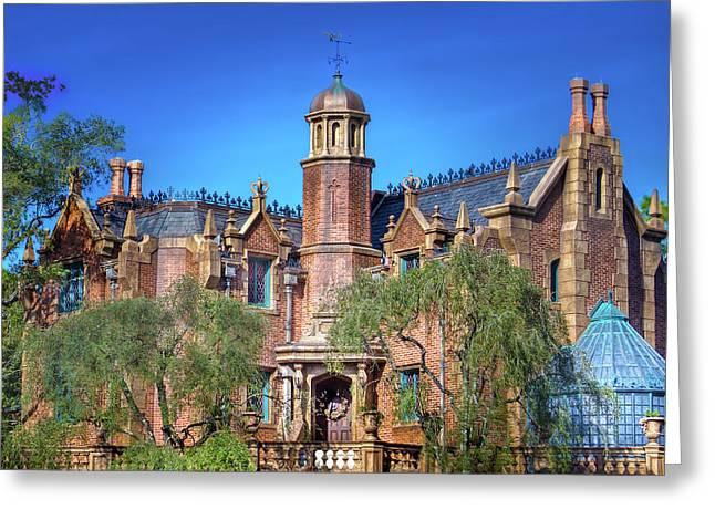 Disney World Haunted Mansion  Greeting Card