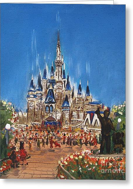 Disney World Greeting Card