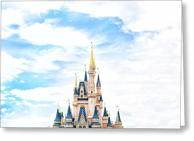 Disneyland Greeting Card by Happy Home Artistry