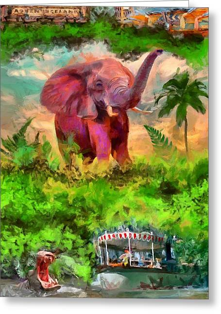 Disney's Jungle Cruise Greeting Card