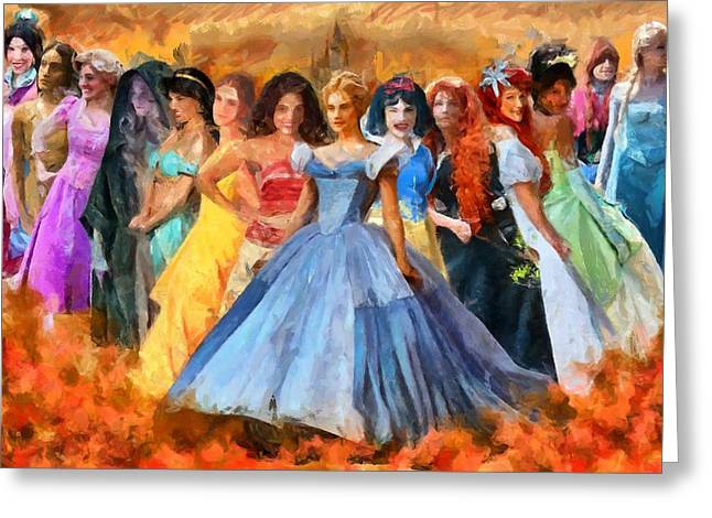 Disney's Princesses Greeting Card