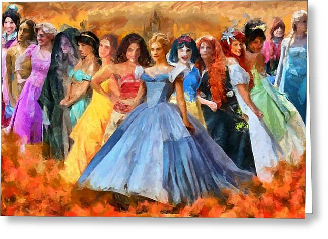 Disney's Princesses Greeting Card