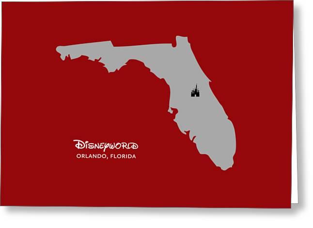 Disneyworld Greeting Card
