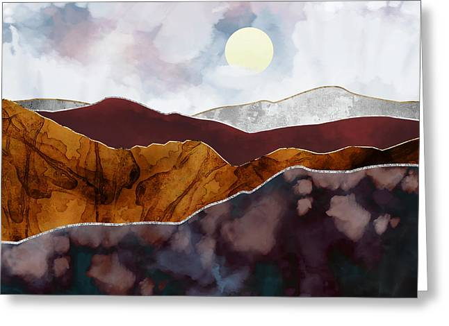 Distant Light Greeting Card by Katherine Smit