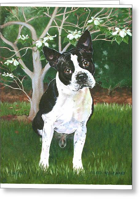 Ditto Greeting Card by Eileen Hale