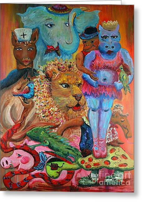 Diversity Greeting Card by Nadine Rippelmeyer