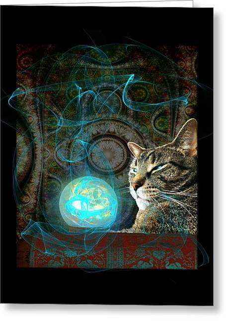 Divination Greeting Card by Anastasiya Malakhova