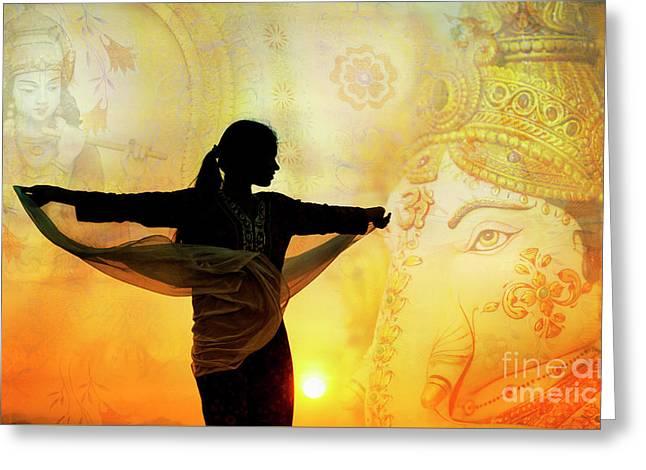 Divine Dance Greeting Card