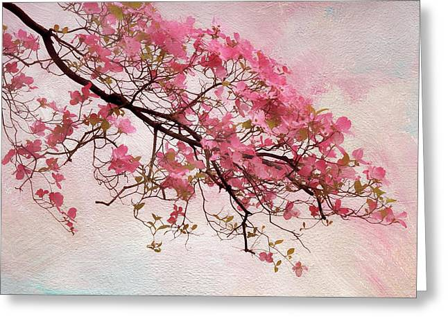 Divine Dogwood  Greeting Card by Jessica Jenney