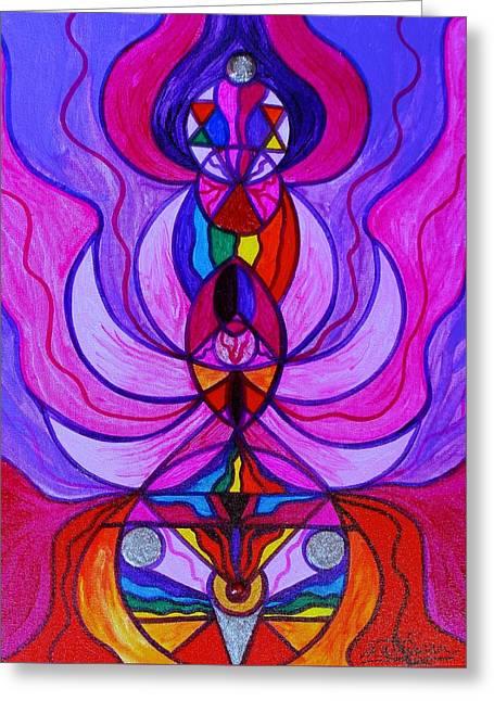 Divine Feminine Activation Greeting Card