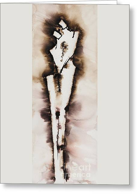 Divine Love Series No. 2042 Greeting Card by Ilisa Millermoon