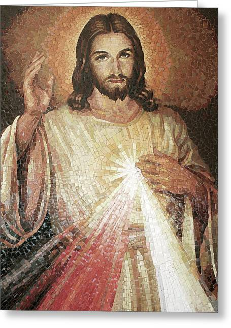 Divine Mercy 4 Greeting Card