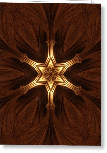 Divine Precepts Greeting Card