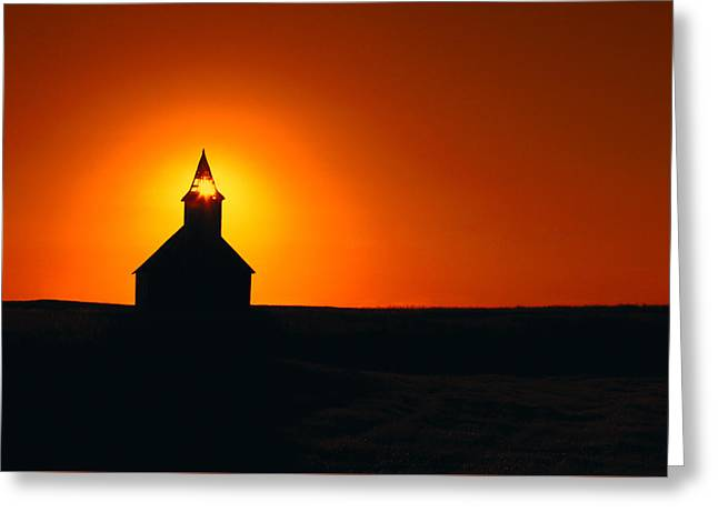 Divine Sunlight Greeting Card by Todd Klassy