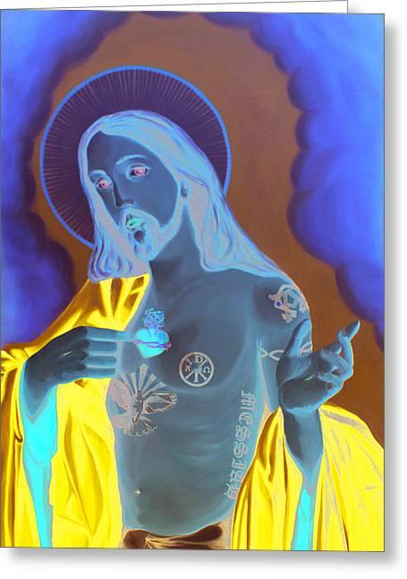 Divineink Greeting Card by Matthew Lake