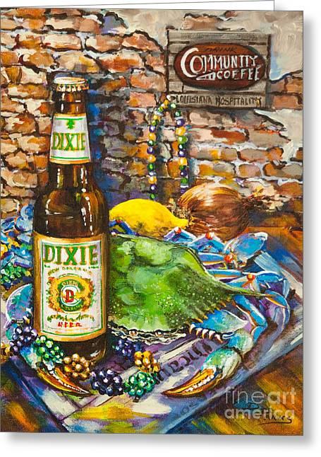 Dixie Love Greeting Card