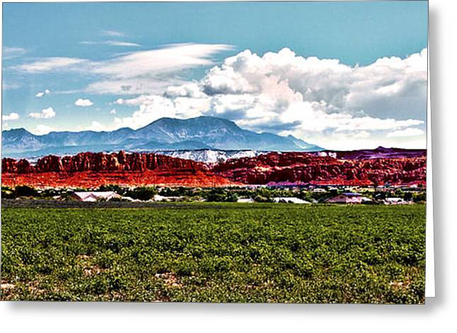 Dixie Red Rocks Greeting Card