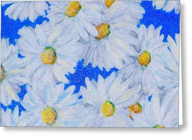 Dizzy Daisies Greeting Card