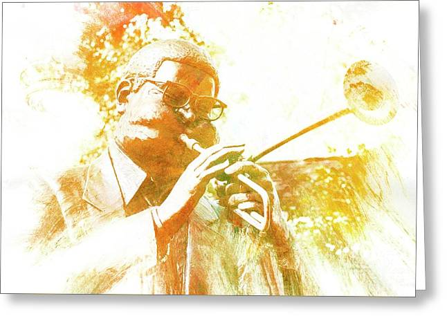 Dizzy Gillespie Cheraw South Carolina 2 Greeting Card