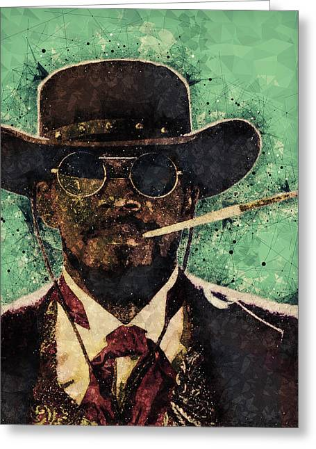 Django Unchained  Greeting Card