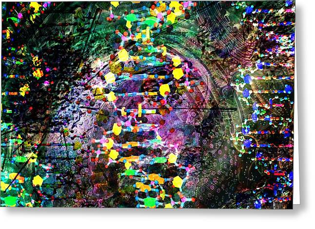 Dna Dreaming 7 Greeting Card