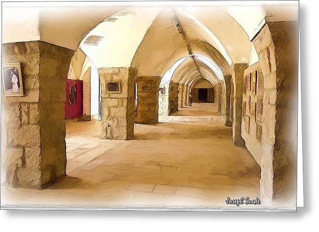 Do-00324 Beiteddine Gallery Greeting Card