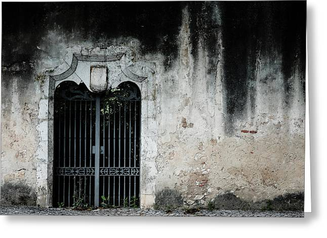 Greeting Card featuring the photograph Do Not Enter by Marco Oliveira