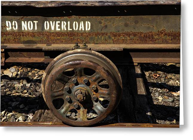 Do Not Overload Greeting Card