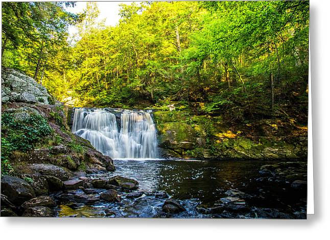 Doans Falls Lower Falls Greeting Card