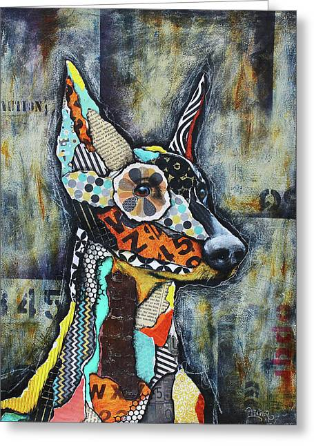 Doberman Pinscher Greeting Card