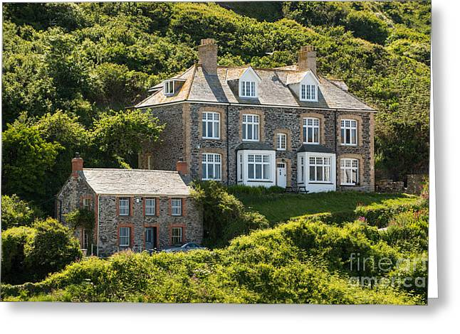 Doc Martin's Surgery Greeting Card by Amanda Elwell
