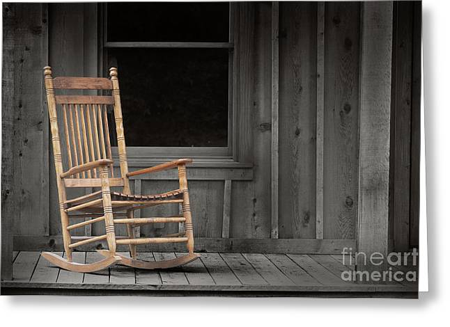 Dock Chair Greeting Card