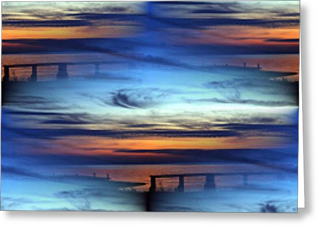 Dock Of The Bay Greeting Card by Tim Allen