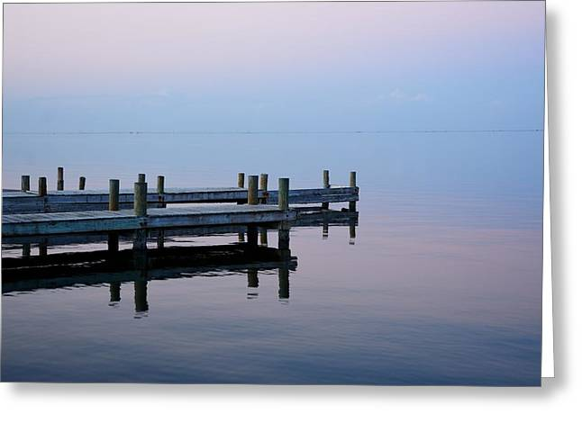 Greeting Card featuring the photograph Dock On The Indian River by Bradford Martin