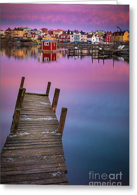 Dock Serenity Greeting Card