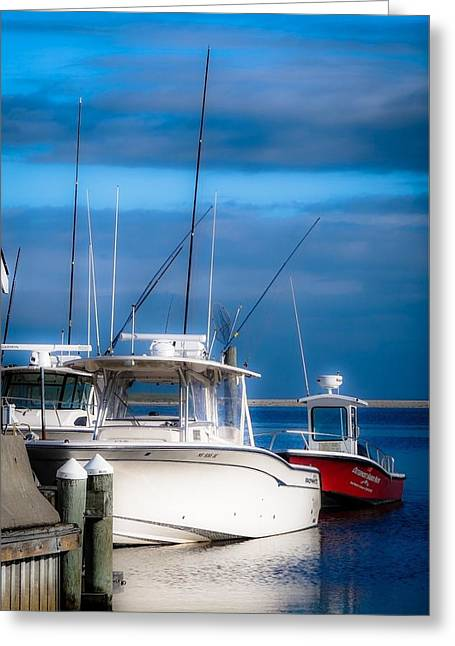 Docked And Quiet Greeting Card