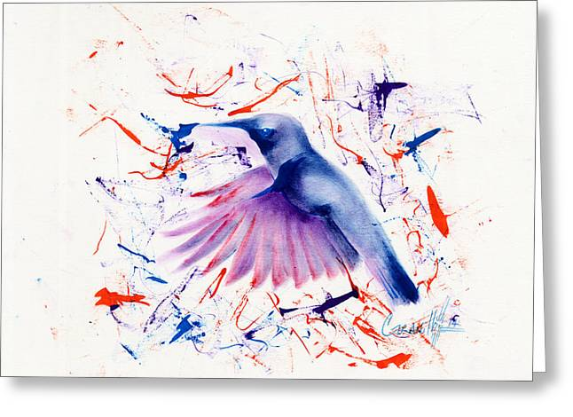 Doctor Bird Greeting Card by John Paul Granillo