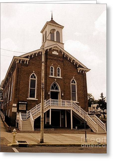 Doctor Martin Luther King Church In Montgomery Alabama  Greeting Card by John Malone