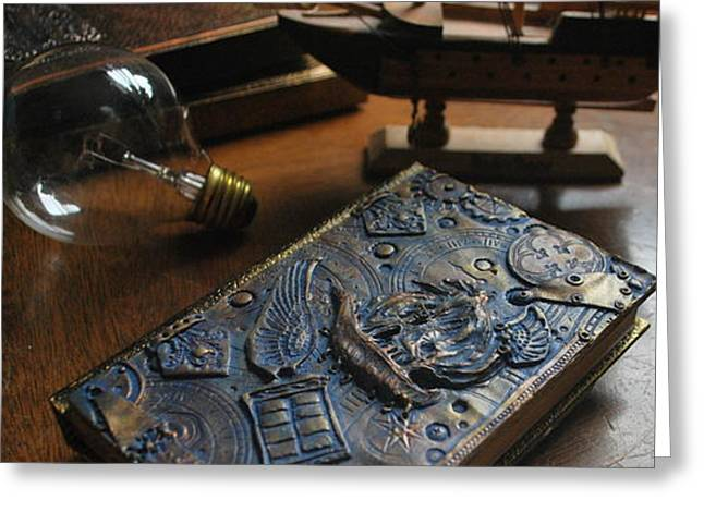 Doctor Who Steampunk Journal  Greeting Card