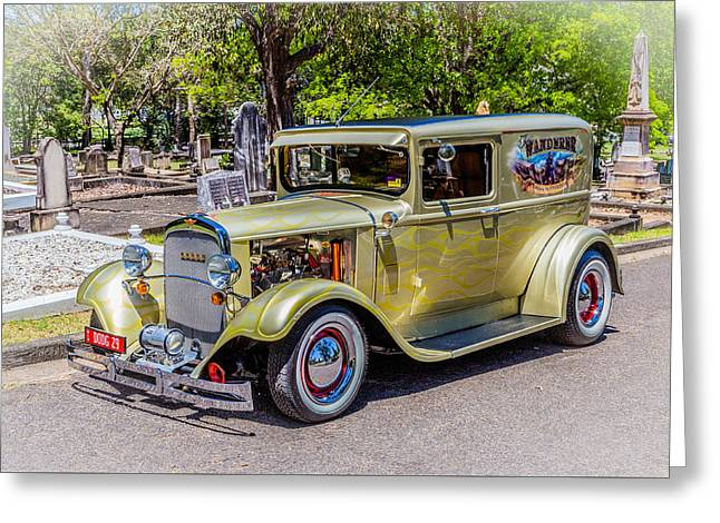 Dodge 2 Greeting Card by Keith Hawley