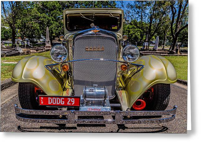 Dodge 4 Greeting Card by Keith Hawley